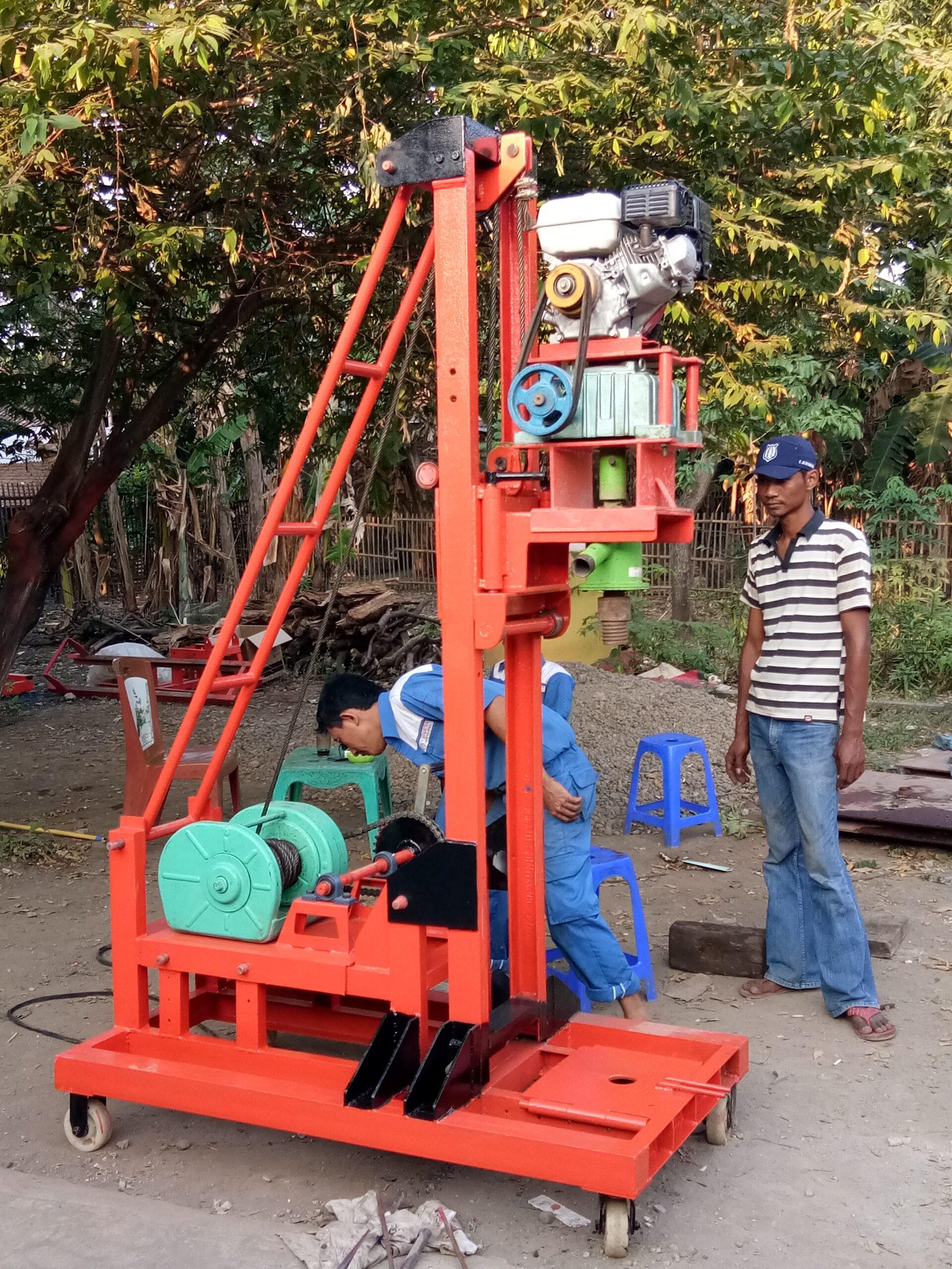 biaya ngebor air Tangerang